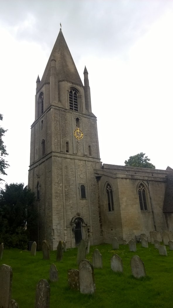 Barnack Church, Soke of Peterborough
