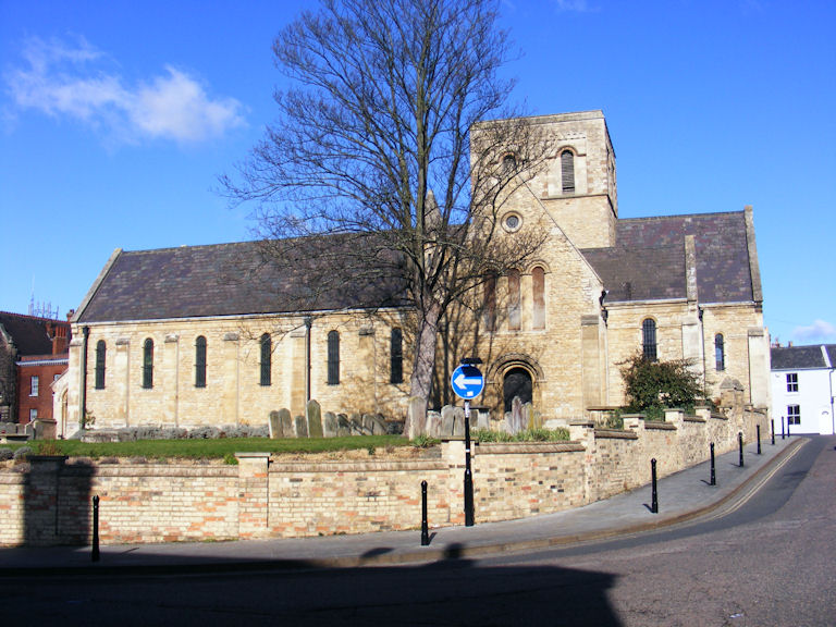 St. Cuthbert's Church, Bedford, Bedfordshire