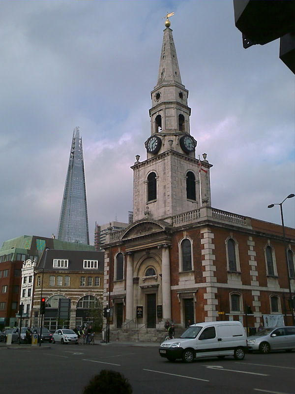 Church of St. George the Martyr, Borough, London