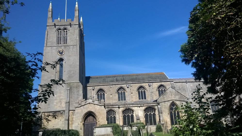 Bourne Abbey Church, Lincolnshire