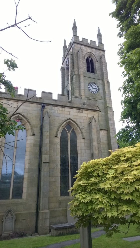Brighouse Church, West Riding of Yorkshire