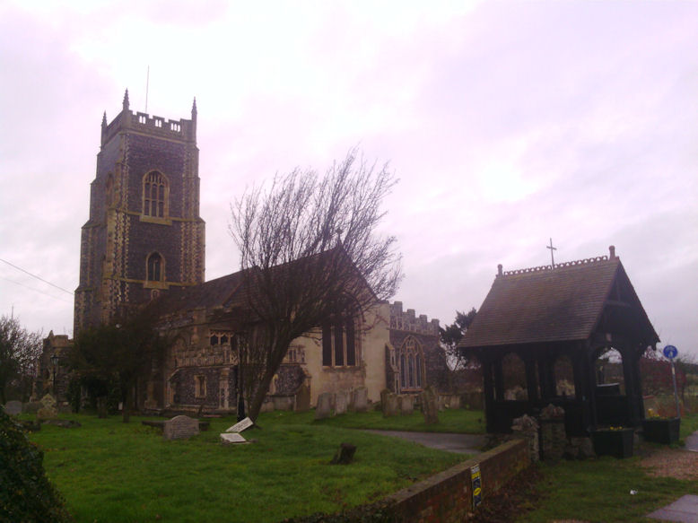 Brightlingsea Church, Essex