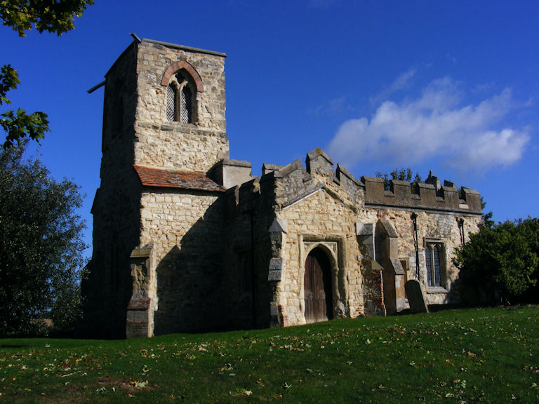 Caldecote Church, Hertfordshire