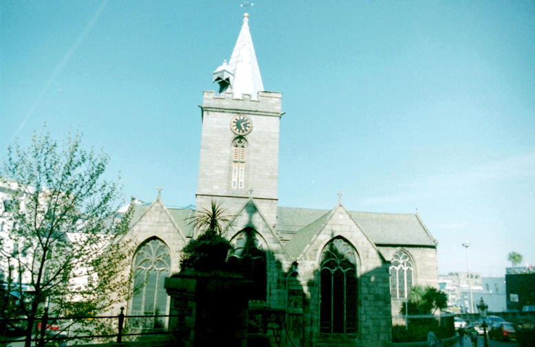 Town Church, St. Peter Port, Guernsey, Channel Islands