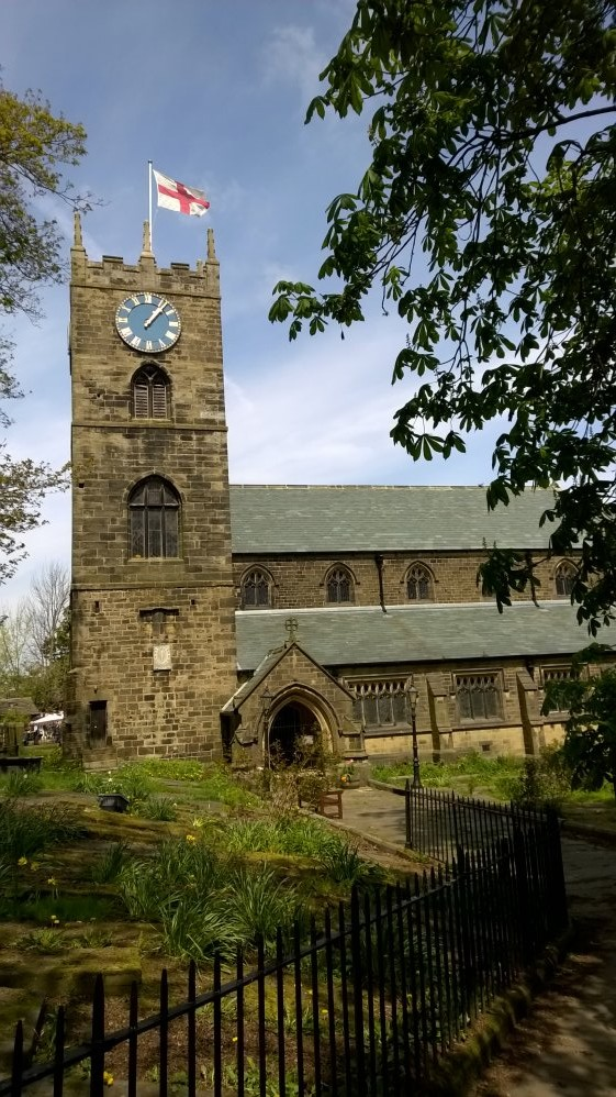 Haworth Church, West Riding of Yorkshire