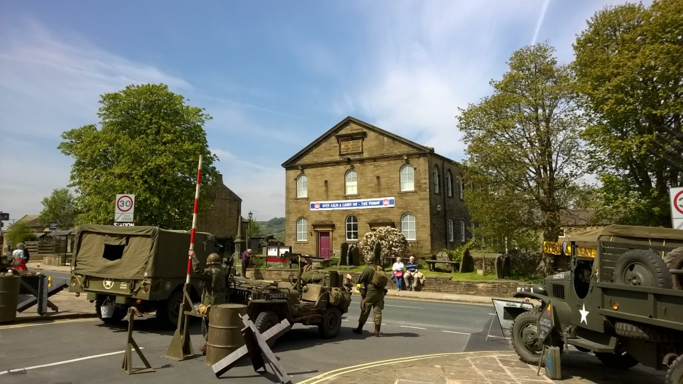 Haworth Baptist Church, West Riding of Yorkshire