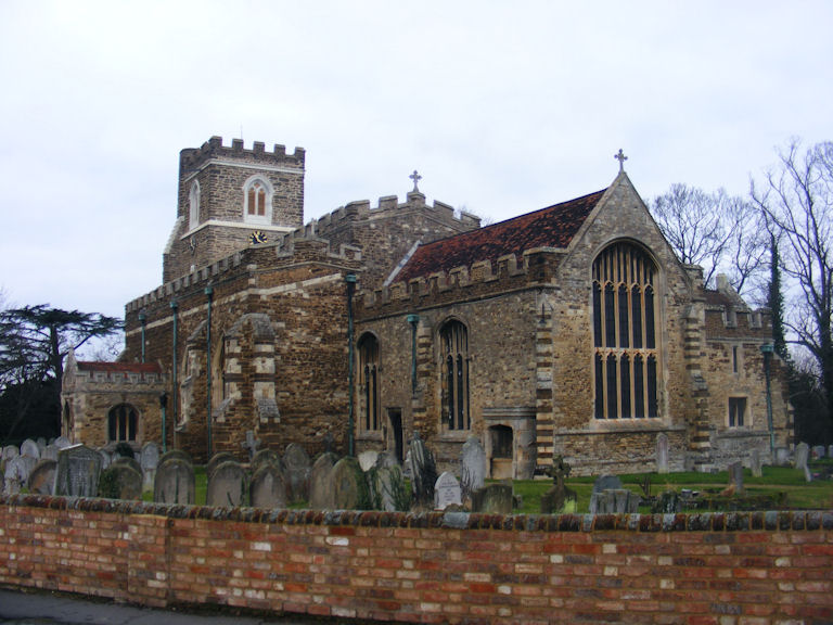 Houghton Conquest Church, Bedfordshire