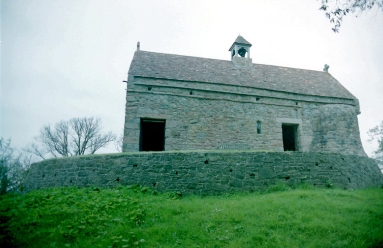 La Hogue Bie Chapels, Jersey, Channel Islands