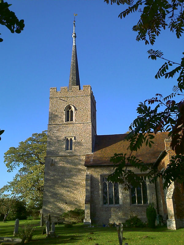 Hunsdon Church, Hertfordshire