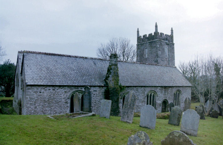 Lanihorne Church, Cornwall
