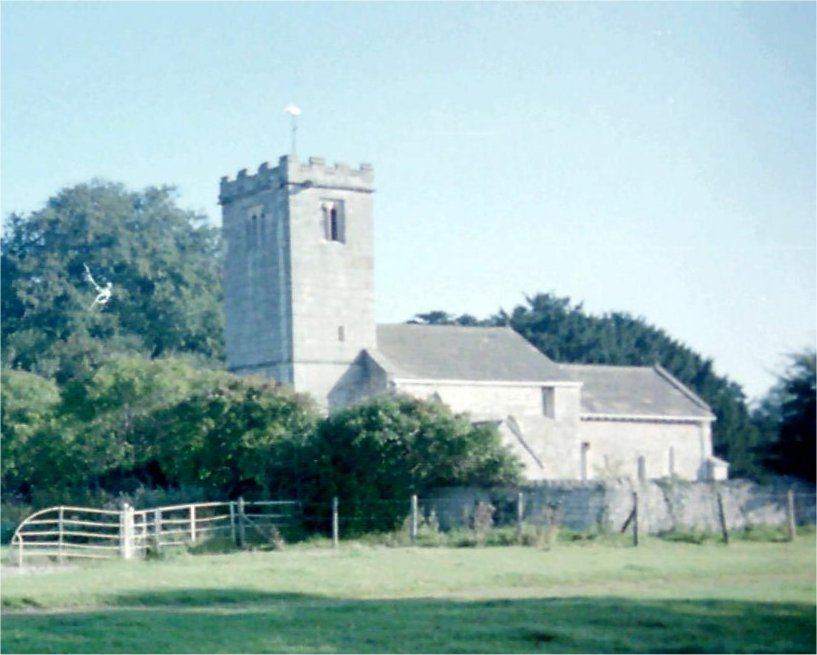 Newton Kyme Church, North Riding of Yorkshire