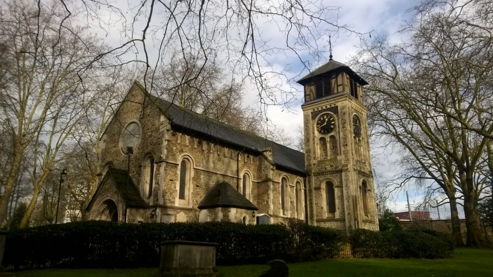 Old St. Pancras Church, City of Westminster, London