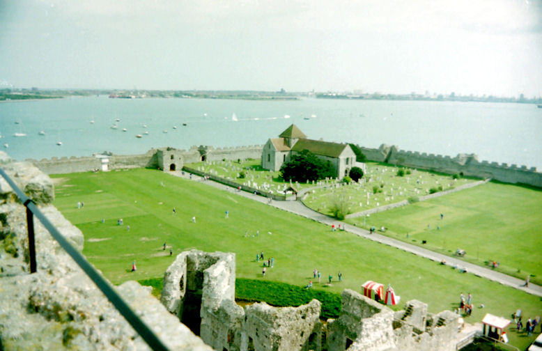 Portchester Church, Hampshire