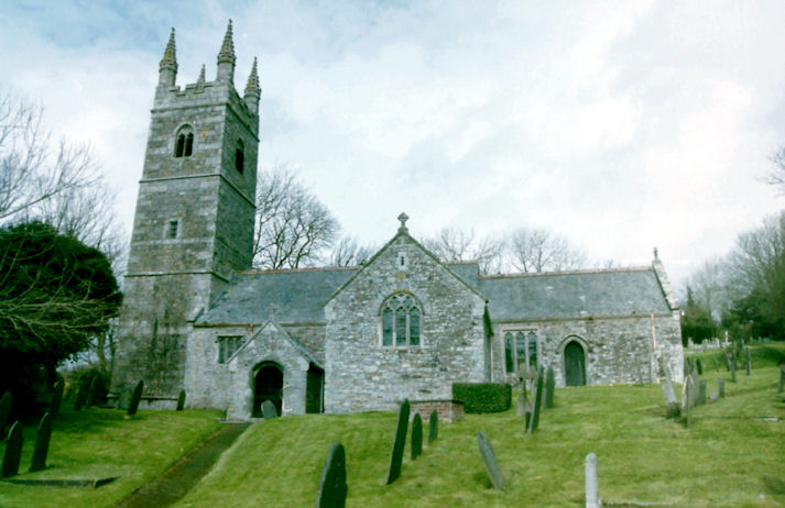 St. Winaloe's Church, Poundstock, Cornwall