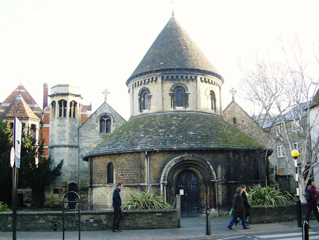 St Sepulchre's Church (The Round Church), Cambridge, Cambridgeshire
