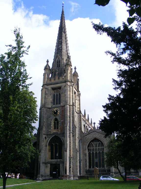 Saffron Walden Church, Essex