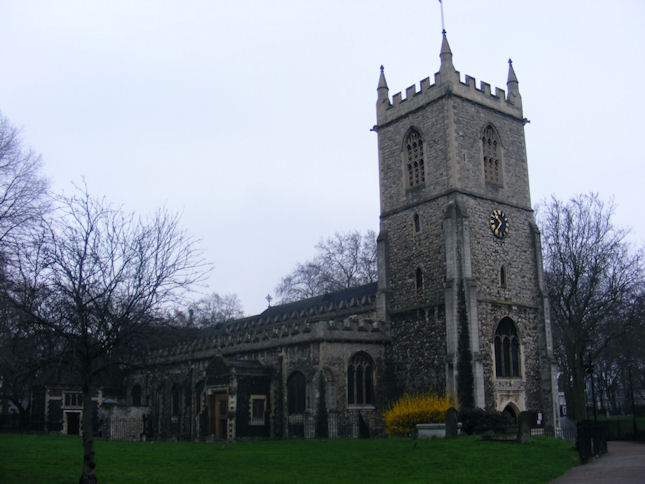 St. Dunstan and All Saints' Church, Stepney, London