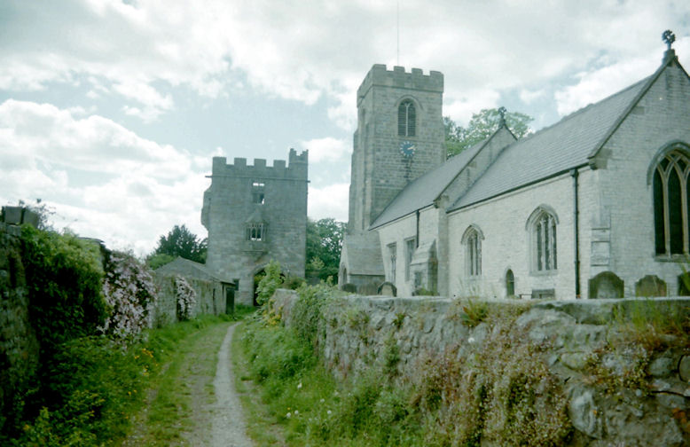 West Tanfield Church, North Riding of Yorkshire