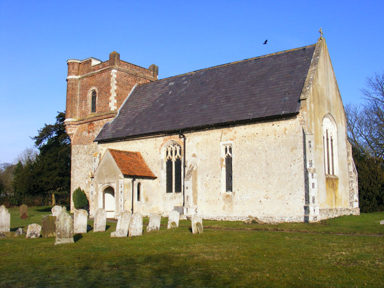 Throcking Church, Hertfordshire