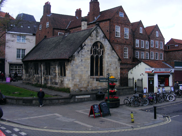 St. Crux Church, York, Yorkshire