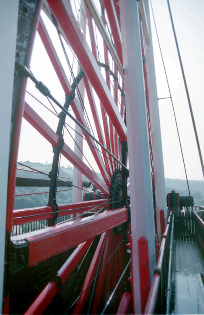 Close View of the Wheel, Laxey, Isle of Man
