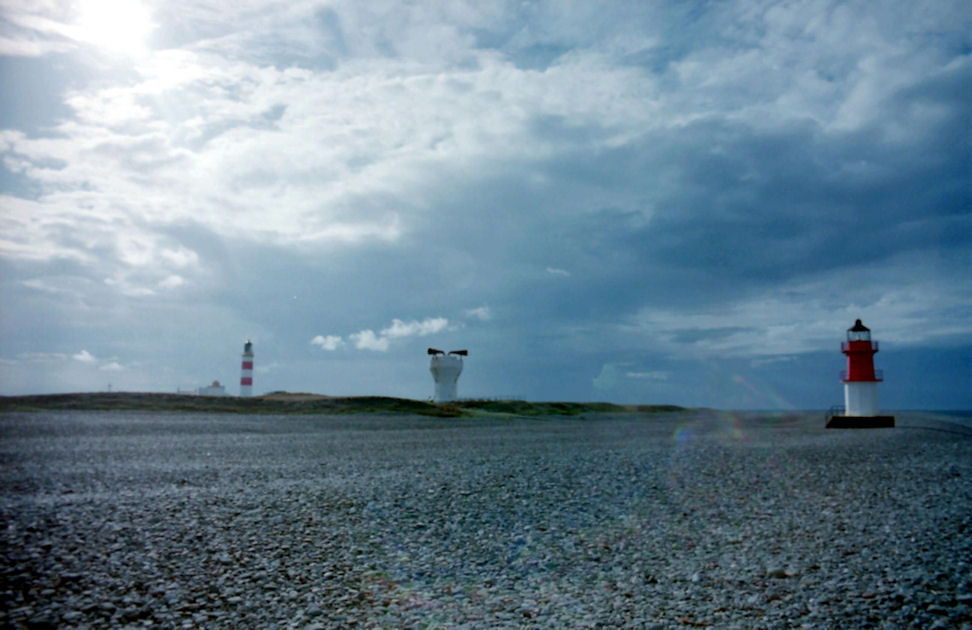 The Point of Ayre at the northern end of the Isle of Man