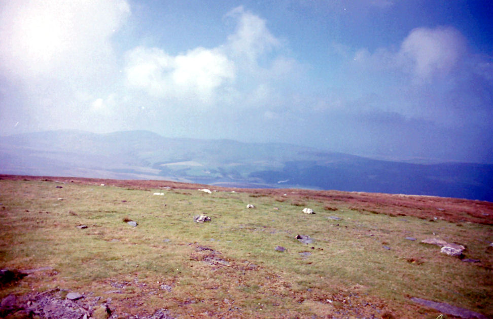 View from Snaefell, Isle of Man