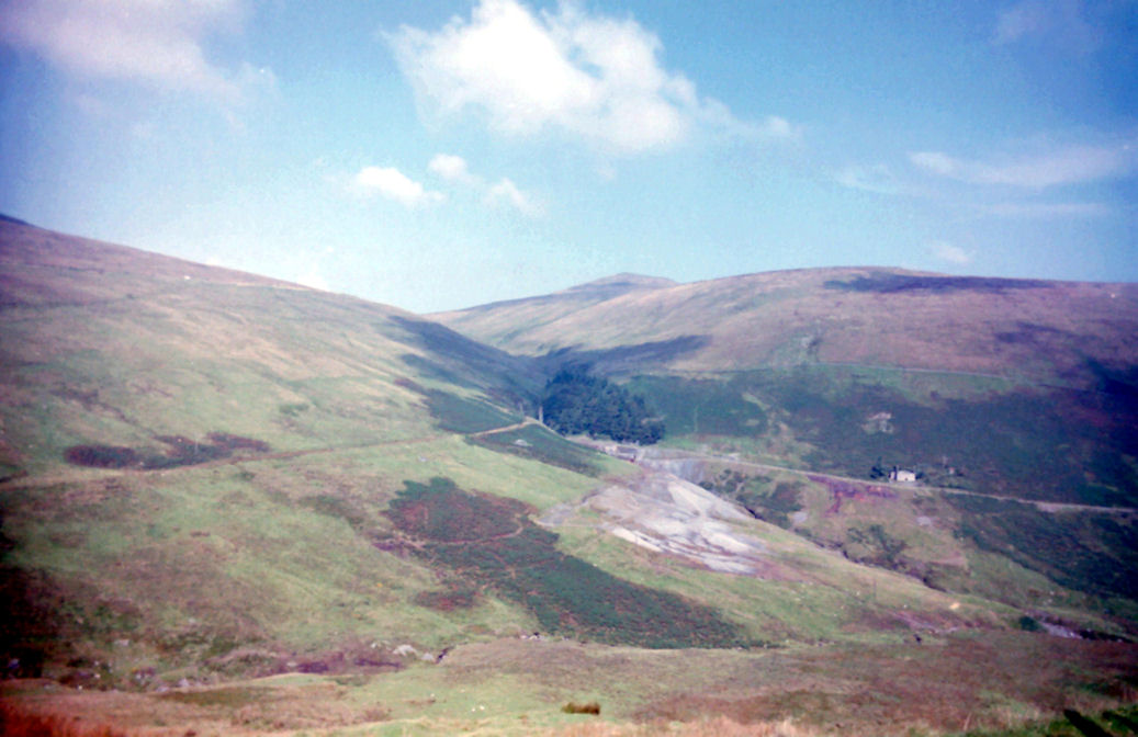 Looking back to Snaefell, Isle of Man