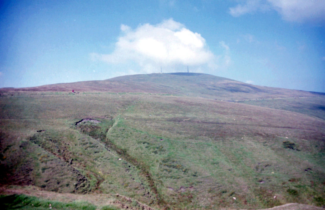 View of Snaefell, Isle of Man