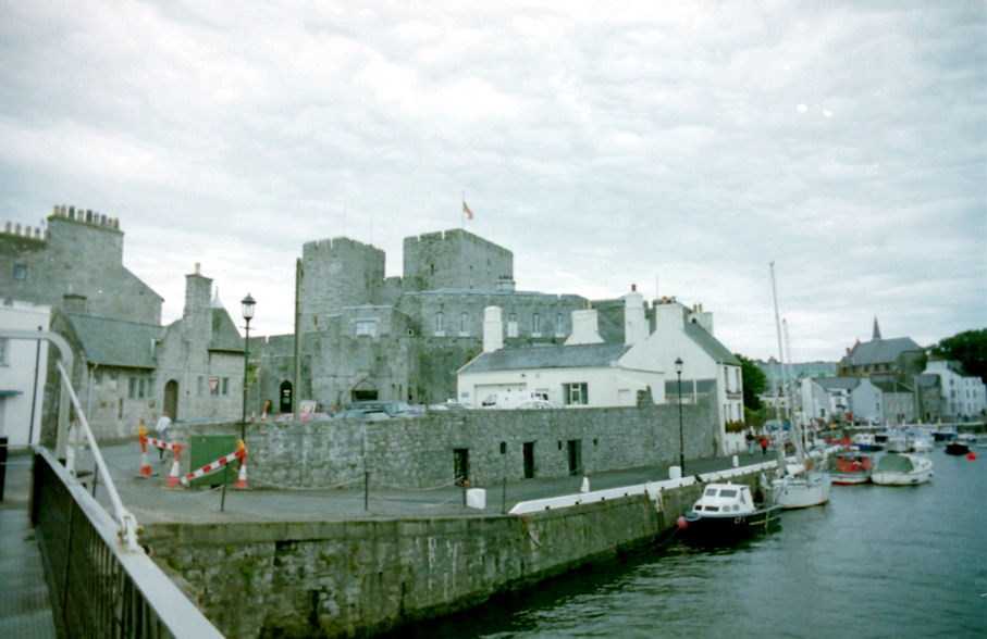 Castle Rushen and Castletown Harbour, Isle of Man