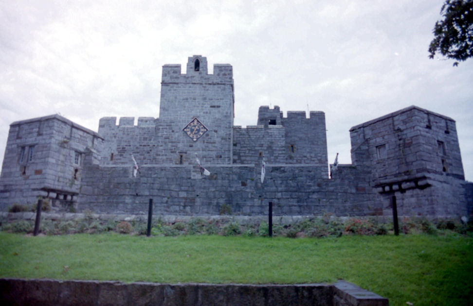 The centre of Castle Rushen, Isle of Man