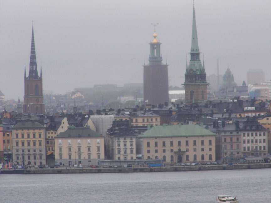 View of the Old Town, Stockholm, Sweden