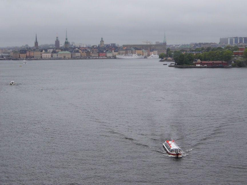 Stockholm from the Brilliance of the Seas