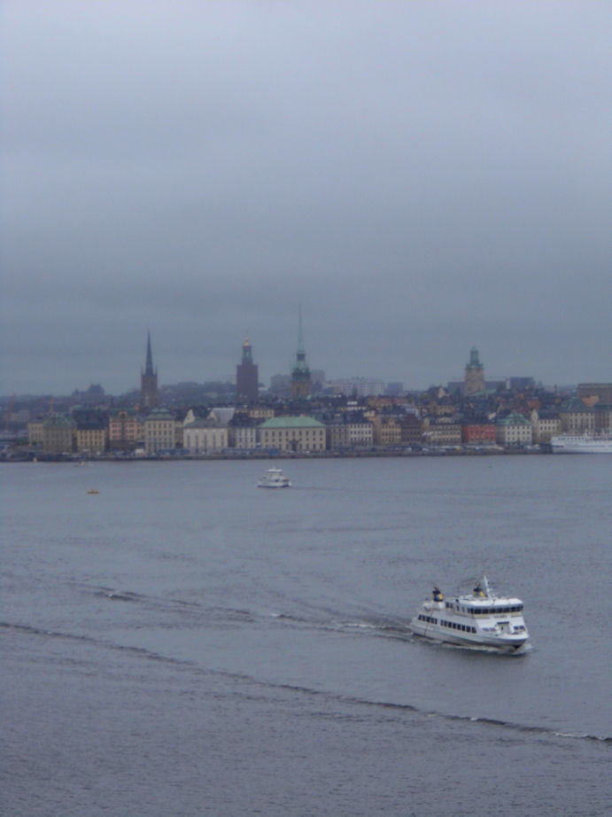 A Last View of Stockholm, Sweden